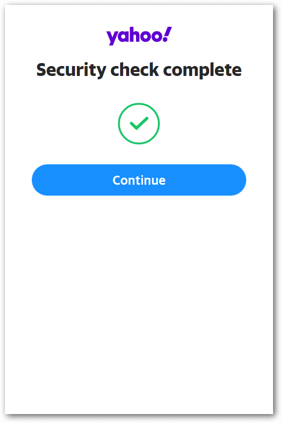 FunCAPTCHA when creating a Yahoo account
