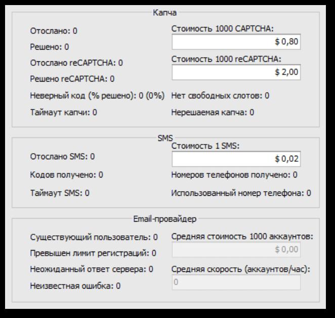 Новая статистика по SMS-активациям и reCAPTCHA v2