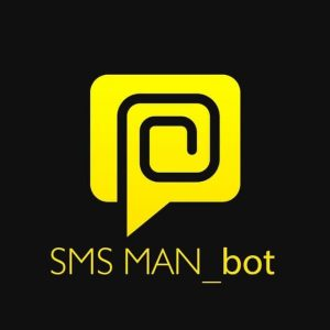 SMS-MAN bot лого