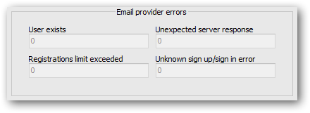 New counter of unknown sign up/sign in errors